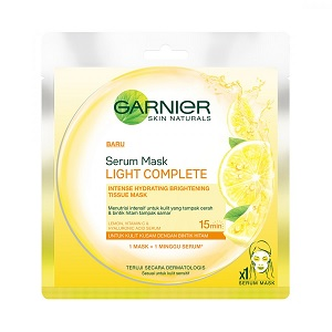 Garnier Light Complete Serum Mask