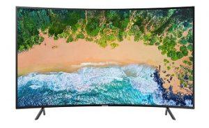 Samsung 4K Smart Curved TV UA55NU7300KXXM