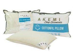 Akemi Sleep Essentials Cottonfil Pillow