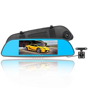 Anti-Dazzling Blue Mirror Dash Cam