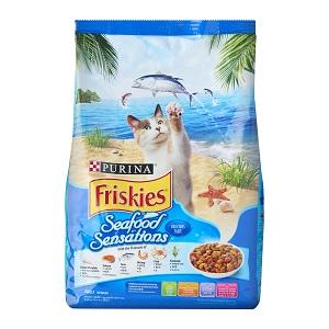 Friskies Seafood Sensations Dry Cat Food
