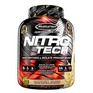 MuscleTech Nitro Tech Whey Protein Isolate