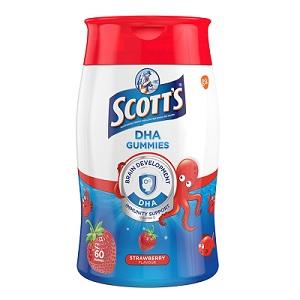SCOTT's DHA Chewable Gummies Fish Oil