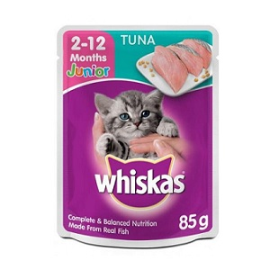 Whiskas Wet Food Junior Tuna & Mackerel