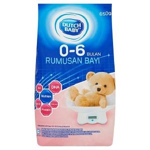 Dutch Baby Milk Formula