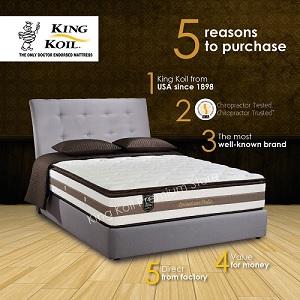 King Koil SpinalCare Pedic Mattress