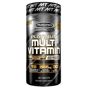 Muscletech Platinum High Potency Multivitamin