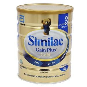 Similac Gold Gain Plus Step 3