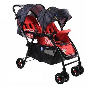 BBH Baby Twin Stroller