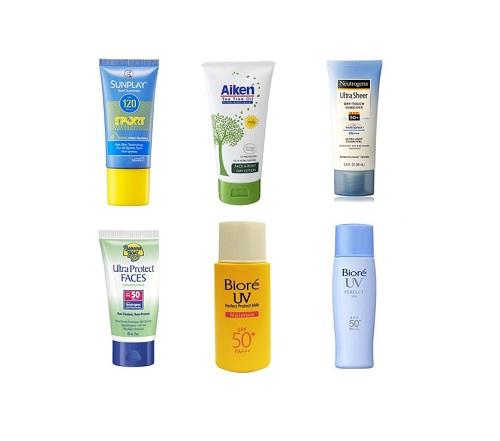 Best Sunscreen Sunblock Malaysia