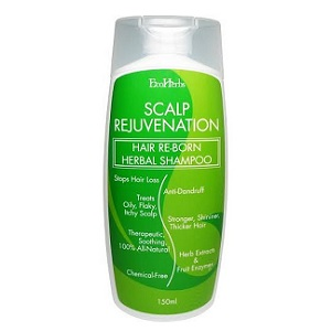 EcoHerbs Scalp Rejuvenation Hair Re-Born Herbal Shampoo