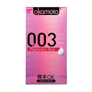 Okamoto 003 Hyaluronic Acid