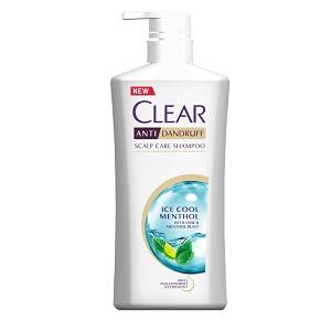 Clear Shampoo Ice Cool Menthol