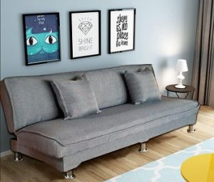 FOREVER 4-Seater Fabric Sofa Bed