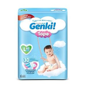 Genki! Tape Mega Diapers