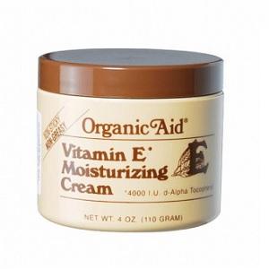 Organic Aid Vitamin E Moisturizing Cream