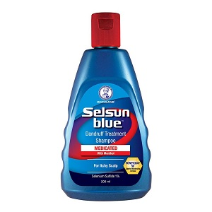 Selsun Blue Extra Strength Treatment Shampoo