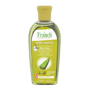 Franch Herbal Hair Oil Aloe Vera