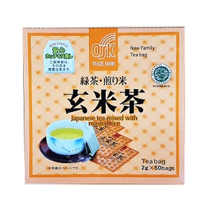OSK Green Tea with Roasted Rice