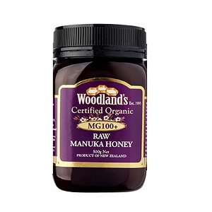 Woodland's Organic Raw MG100+ Manuka Honey