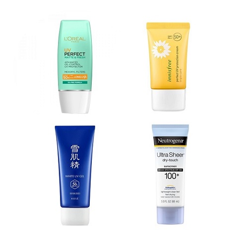 Best Sunscreen Sunblock for Oily Skin Malaysia