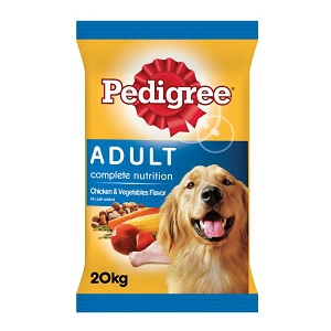 Pedigree Dry Dog Food Chicken & Vegetables