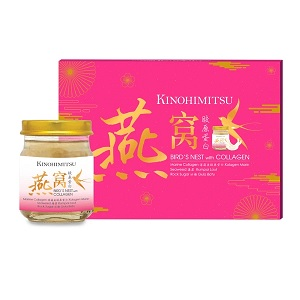 Kinohimitsu Birds Nest with Collagen